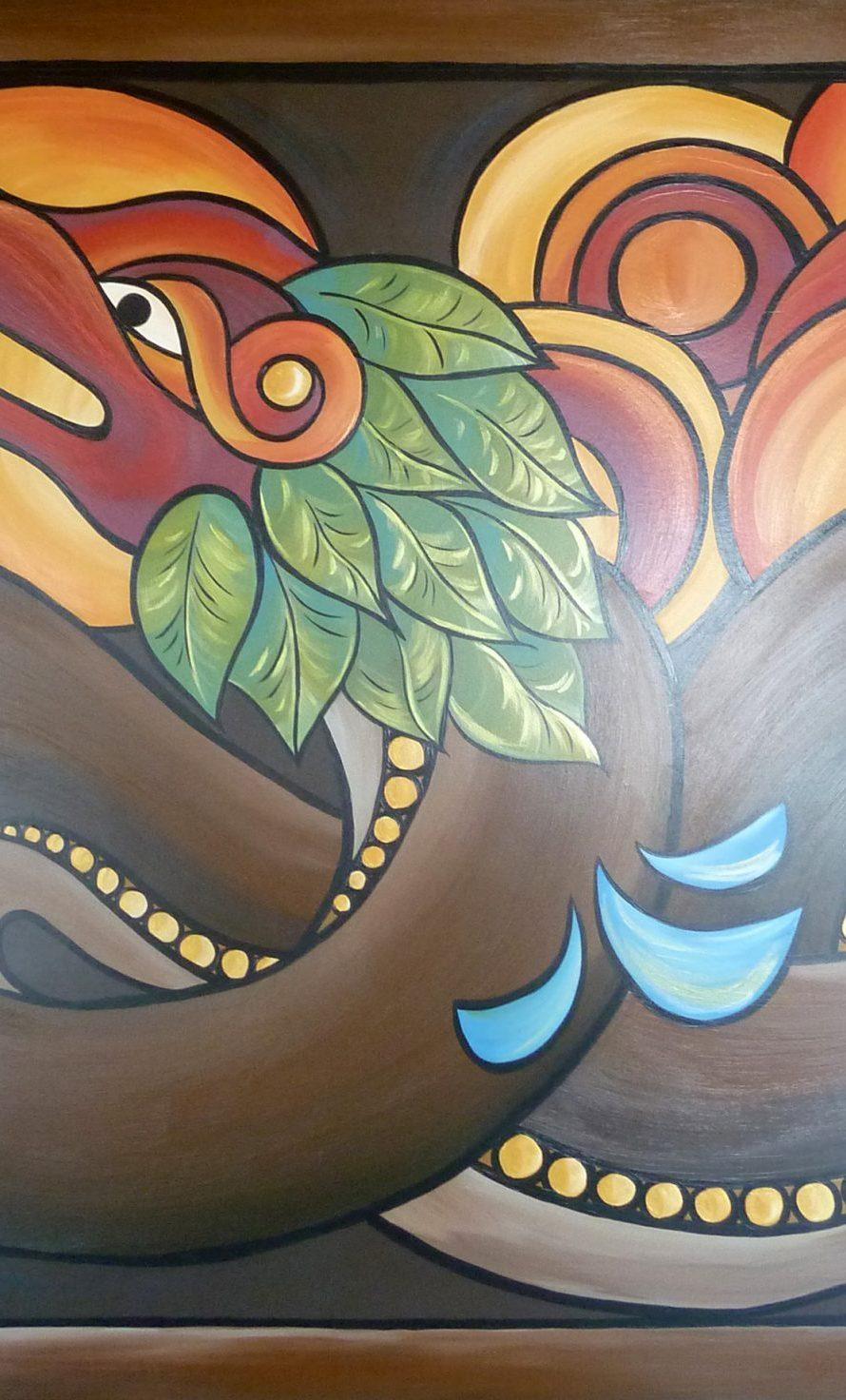 96. Serpent à plume 1